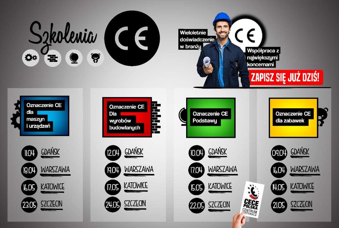 Szkolenia dotyczące oznakowania CE